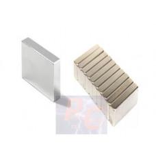 Неодимовый магнит призма 20х6х2 мм N50 (black)