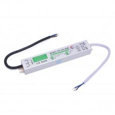 Блок питания свет ленты 220В 12В 1,66А 20ВТ герметичный