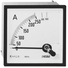 амперметр 250А стрелочный переменного тока