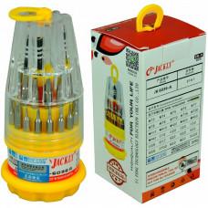 Купить набор отверток JK-6036-A 31 в 1 (конус желтый) оригинал